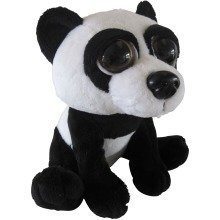 Petjes World Bright Eyes Panda Soft Toy 20cm