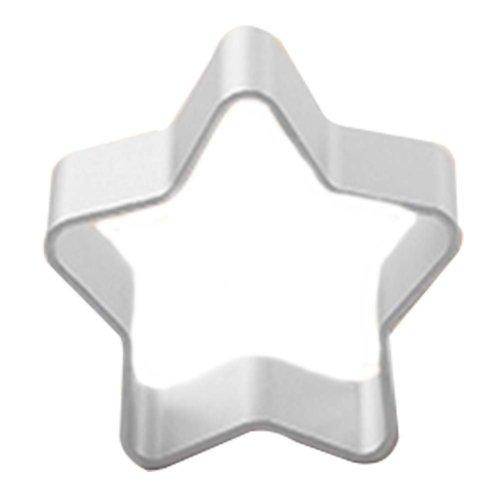 3 Pcs Creative Star Shape Aluminum Baking Mold Cookies Cut