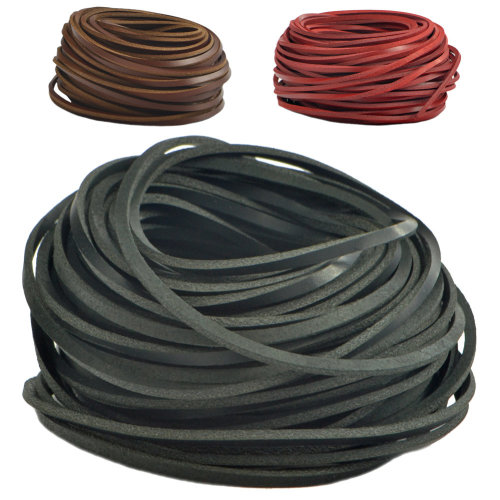 Lambland 1 Pair Of Genuine Leather Shoe Laces