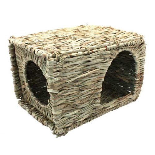 Small Pet Grassy Hideaway Den Nesting Natural Material