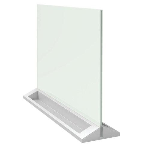Nobo 1905265 Diamond Glass Magnetic Desktop Board