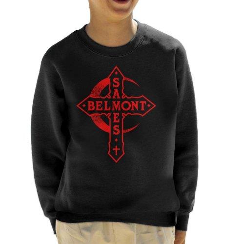 Castlevania Belmont Saves Cross Kid's Sweatshirt