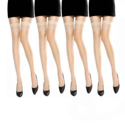 6 Pairs Women Over Knee High Stockings Complexion Ornaments for Matching Clothes