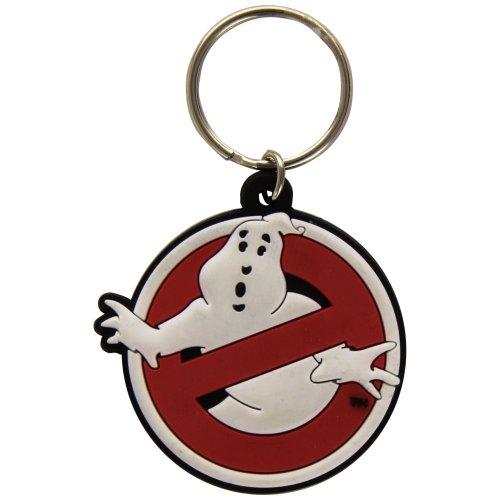 Ghostbusters (logo) - Keyring Logo Keychain Rubber Gift Pyramid International -  ghostbusters keyring logo keychain rubber gift pyramid international