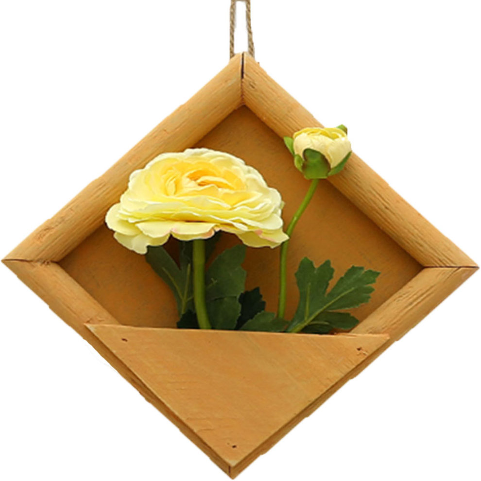 Artificial Flowers, Cloth Flowers with frame Wall Hanger Home ...