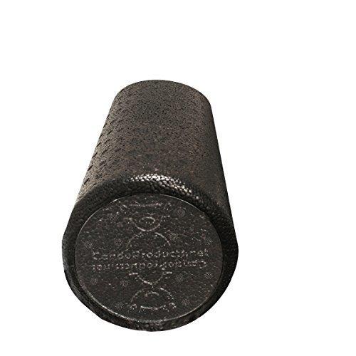 CanDo Black Composite High-Density Roller, Round, 6 X 12