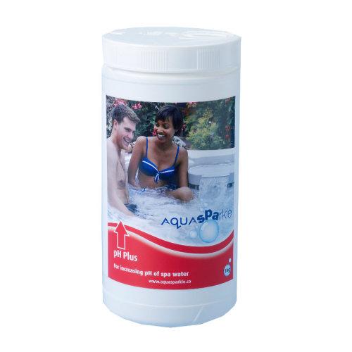 AquaSparkle pH Plus 1kg - For Increasing the pH of spa / hot tub water