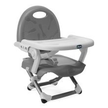 Chicco Pocket Snack Silver Booster Seat