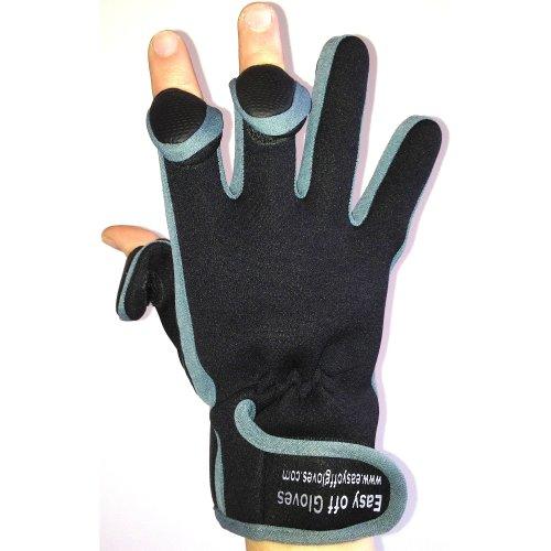 Neoprene Fold Back Fingertip Gloves