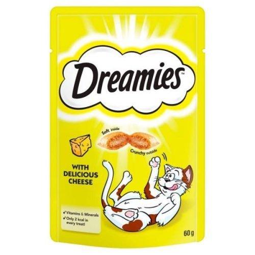 Dreamies Cheese Cat Treats (8x60g)