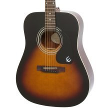 Epiphone DR-100 Dreadnought Acoustic Guitar, Vintage Sunburst