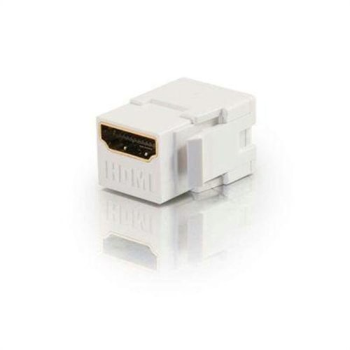 Cables To Go 03345 HDMI Keystone Module White