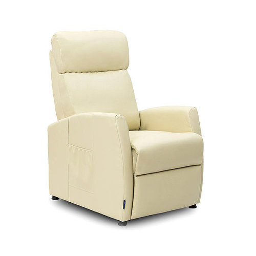 Cecotec 6181 Relaxing Reclining Compact Beige Massage Armchair