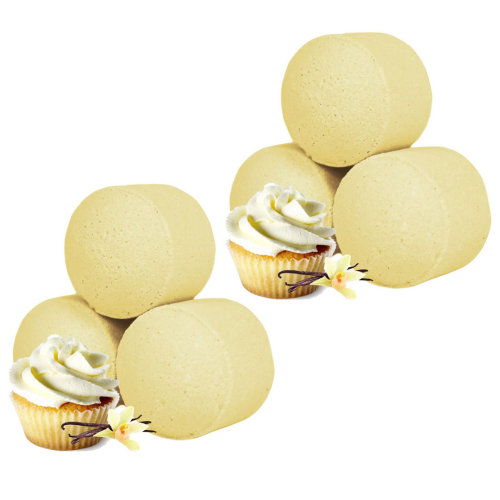 Chill Pills Mini Bath Bombs Marbles Bath Fizzers Gorgeous Aromas Vanillia Cupcake