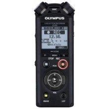 Olympus LS-P2 Internal memory & flash card Black dictaphone