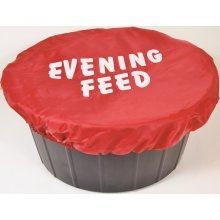 Spartan Printed Bucket Cover Evening Feed: Red