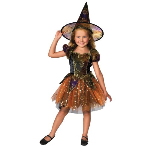 Kids Elegant Witch Costume