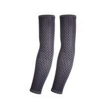 UV Protection Arm Sleeves Breathable Long Sleeves To Cover Arms Honeycomb Shape