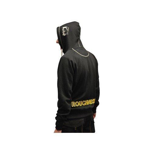 Roughneck Clothing 95-113 Black & Grey Zip Hooded Sweatshirt 42-44in - L