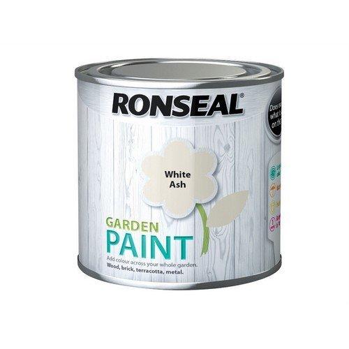 Ronseal 37378 Garden Paint White Ash 250ml