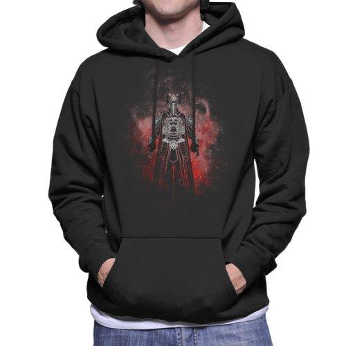 Thulsa Doom Silhouette Conan The Barbarian Men's Hooded Sweatshirt