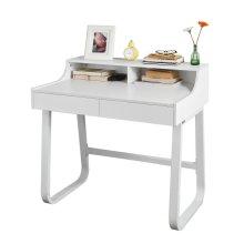 SoBuy® FWT22-W, Home Office Table Desk Computer Desk Computer Workstation