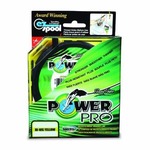 Power Pro Spectra Fiber Braided Fishing Line, Hi-Vis Yellow, 150YD/20LB