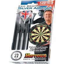 24g Silver Harrow Bristow Arrow Darts - Eric Harrows -  silver eric bristow harrows darts