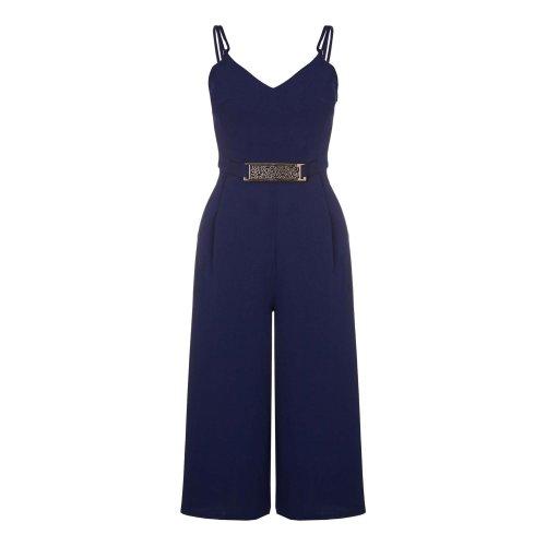 Mela London Womens/Ladies Belted Culotte Jumpsuit