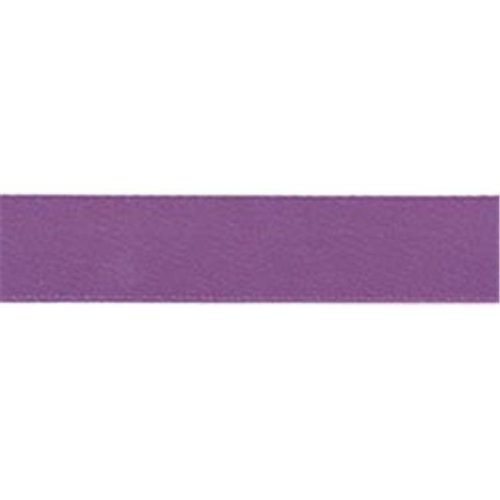 Offray 1017 5-8-473 Single Face Satin Ribbon 5-8 in. Wide 18 Feet-Amethyst