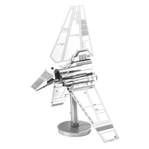 Star Wars Metal Earth 3d Model Kit - Imperial Shuttle