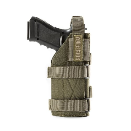 OneTigris Minimalist MOLLE Pistol Holster (Ranger Green)