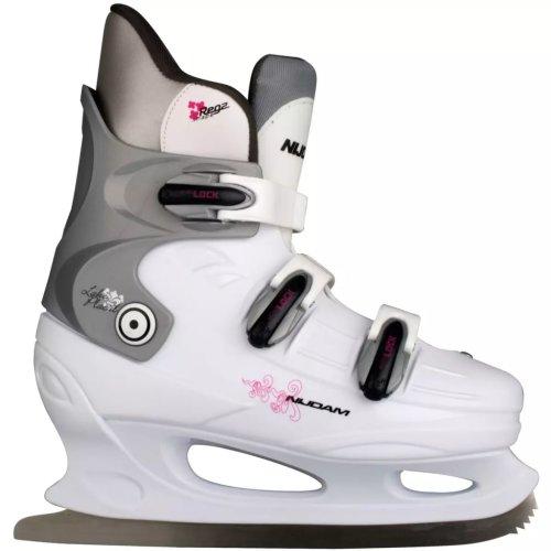 Nijdam Figure Skates Ice Skating Hard Boots Shoes Blades Size 37 0031-WZF-37