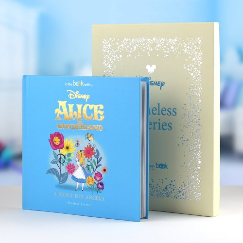 PERSONALISED Disney Alice In Wonderland Story Book - Timeless Edition