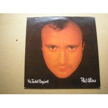 PHIL COLLINS No Jacket Required UK LP + inner 1985 ex/ex