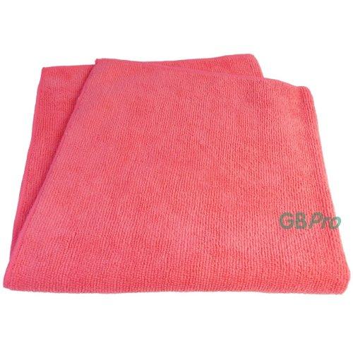 GBPro Eco Premium Microfibre Cloth - Red (40 x 40cm)