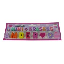 Childrens Mini Erasers - Amber