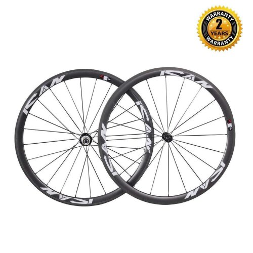 ICAN 38mm Carbon Clincher Wheelset
