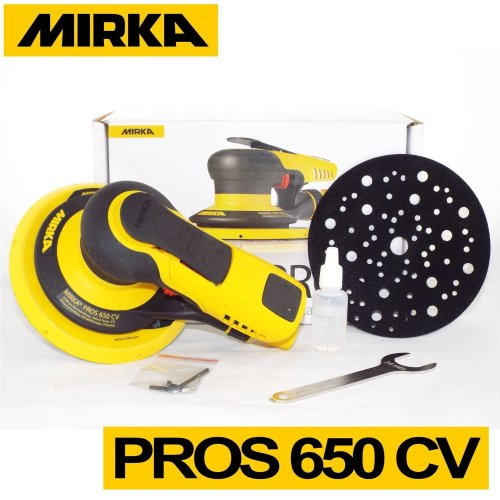 Mirka PROS Pnuematic Random Orbita Sander 5.0mm Orbit - Air powered