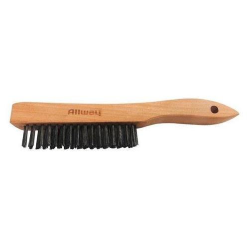WB416 9.5 x 1.06 in. Wire Scratch Brush with Wood Shoe Handle