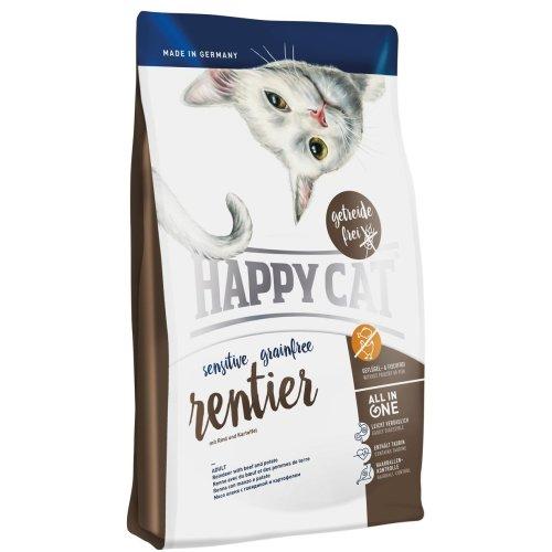 Happy Cat Grain-Free Reindeer Pet Food, 4 kg