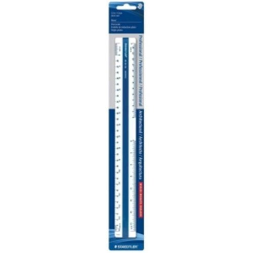 Staedtler 5618910BK 12 in. Flat Architectural Scale