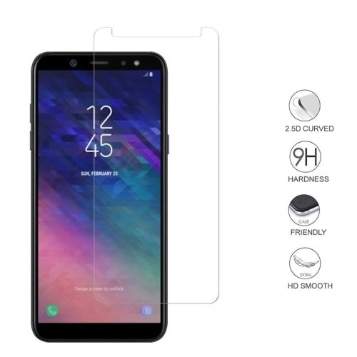 iPro Accessories Galaxy A6 Plus 2018 Tempered Glass, Galaxy A6 Plus 2018 Screen Protector, [Compatible With Galaxy A6 Plus 2018 Case] [Scratch Proof] [Shatter Proof] [9H Hardness]