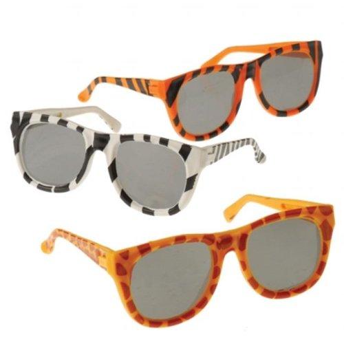 US Toy 204300 Animal Print Sunglasses - Multi-colored