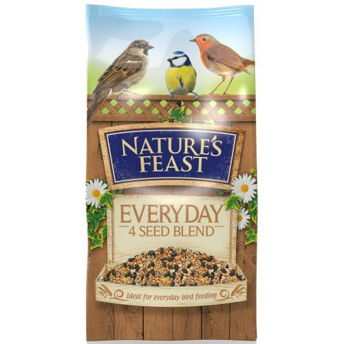 Nature's Feast Everyday 4 Seed Blend For Wild Birds, 5 kg