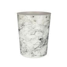Rome Waste Bin, Marble Effect