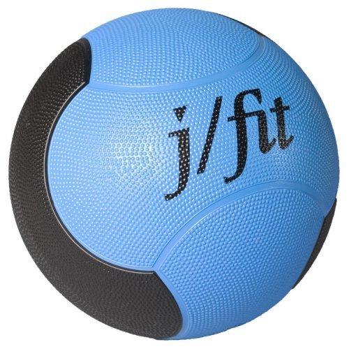 JFIT jfit 6lb Premium Rubberized Medicine Ball