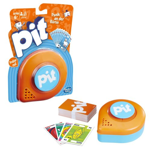 Hasbro Pit - exchange Cards and Win - Family Game For Home or Travel
