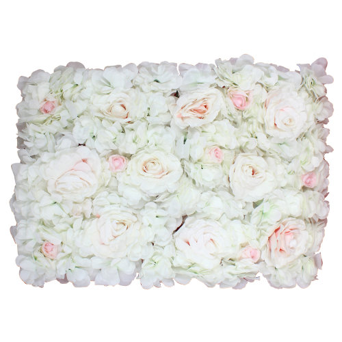 Hydrangea Artificial Flower Wall for Backdrops Background, Decoration 60cm x 40cm