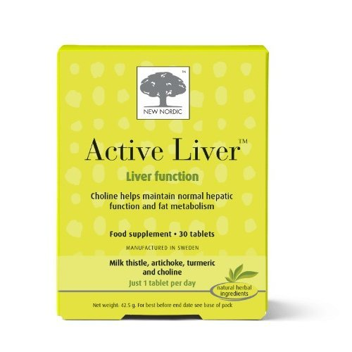 New Nordic  Active Liver Tablets 30s